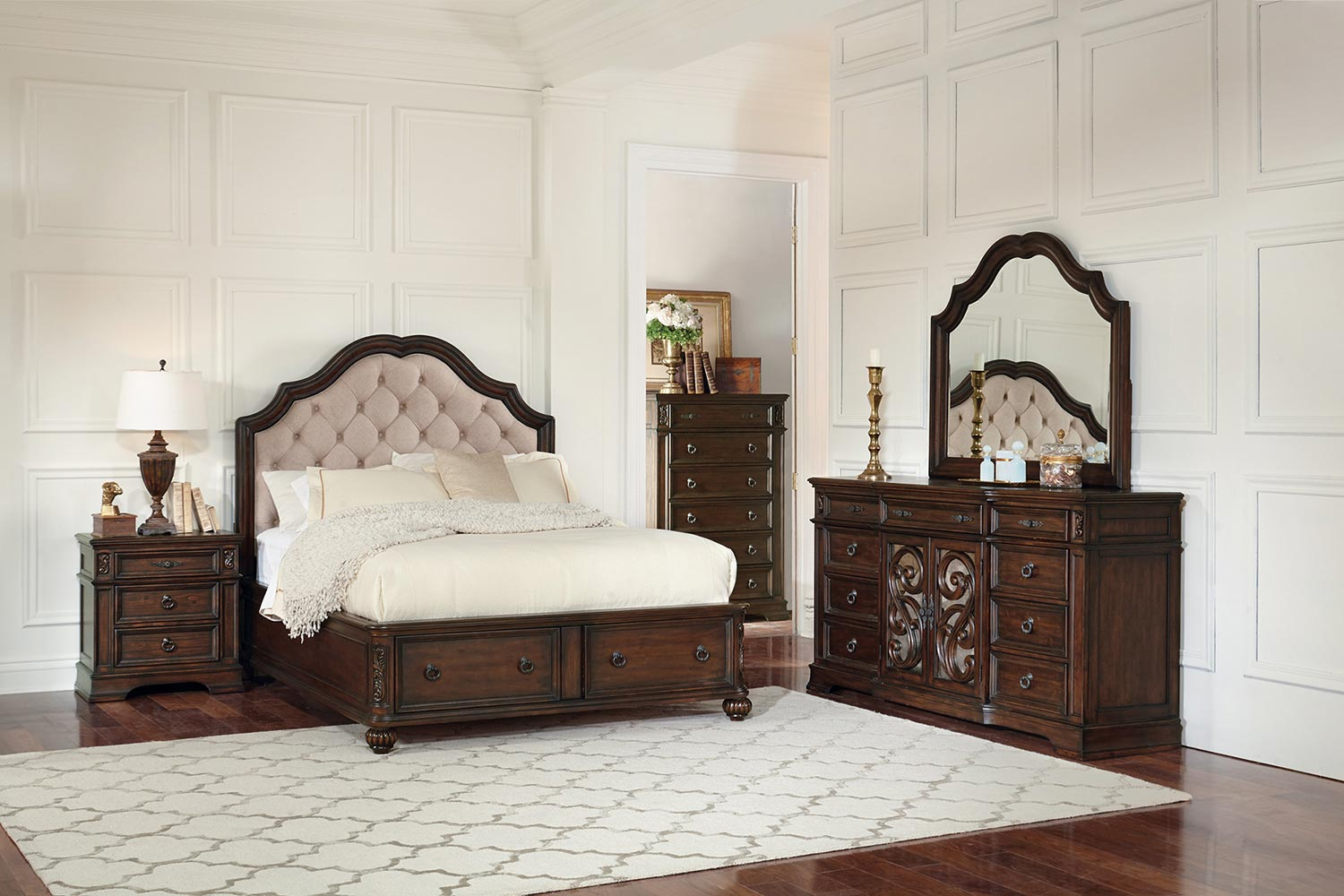 Coaster Ilana Bedroom Set - Antique Java