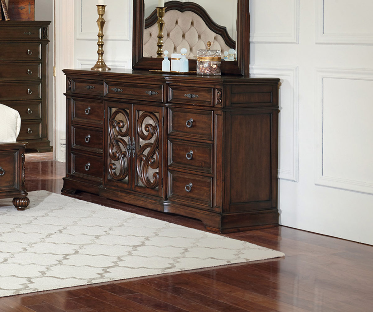 Coaster Ilana 9-Drawers Dresser - Antique Java
