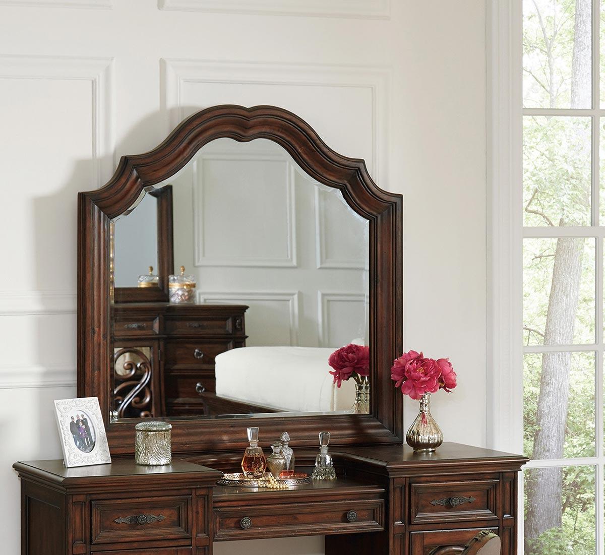 Coaster Ilana Vanity Mirror - Antique Java