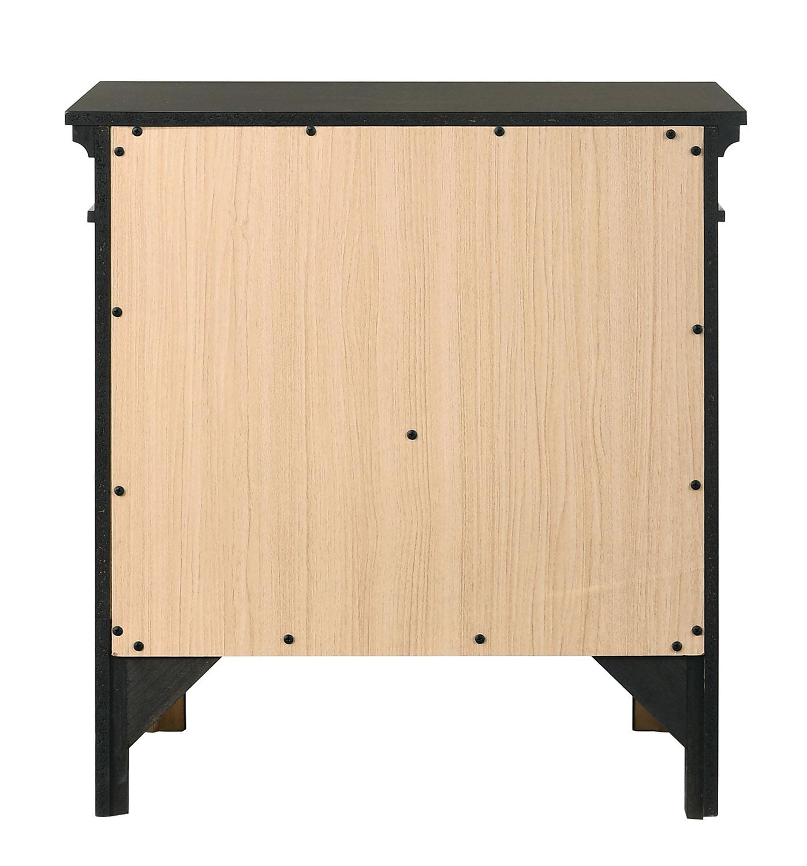 Coaster Newberry Nightstand - Bark Wood