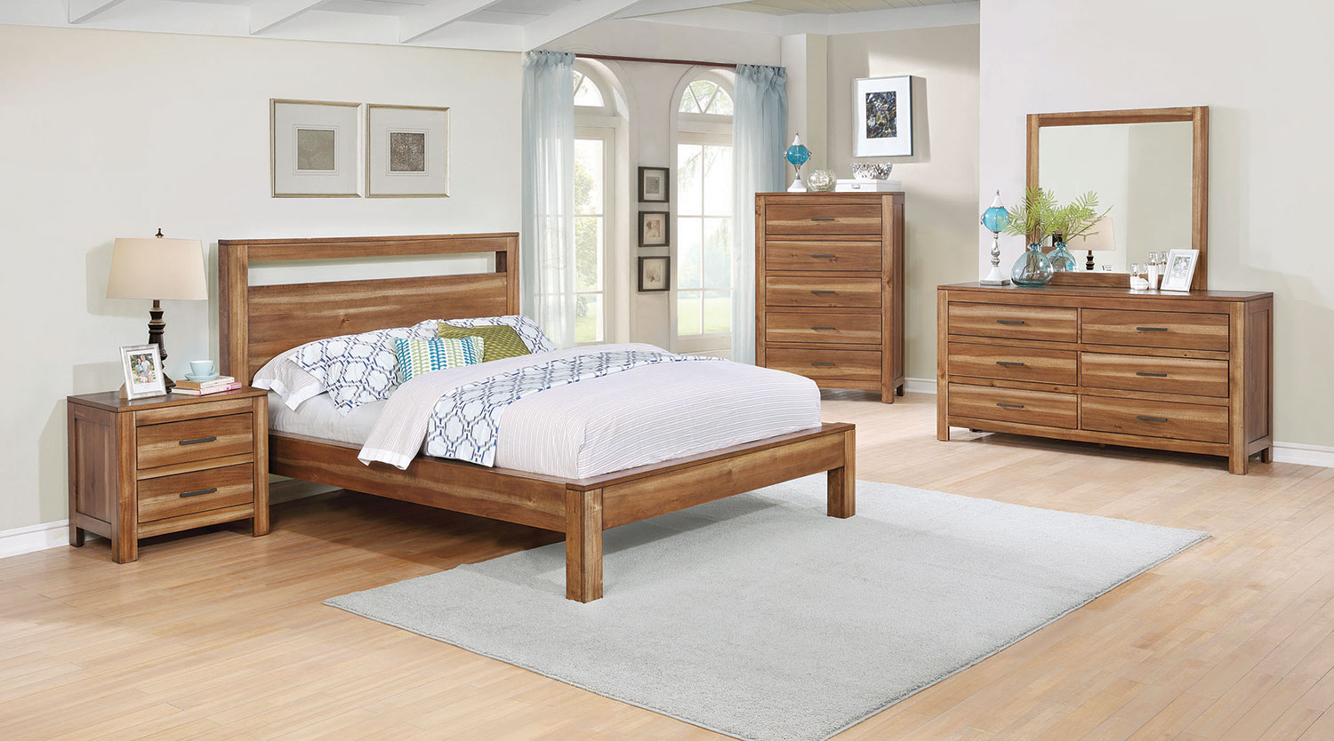 Coaster Ethan Bedroom Collection - Natural Brown