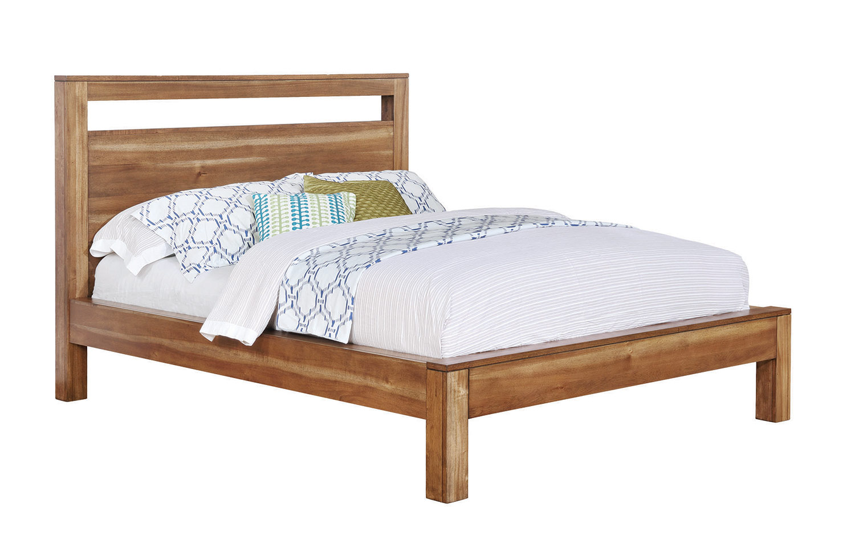 Coaster Ethan Platform Bed - Natural Brown