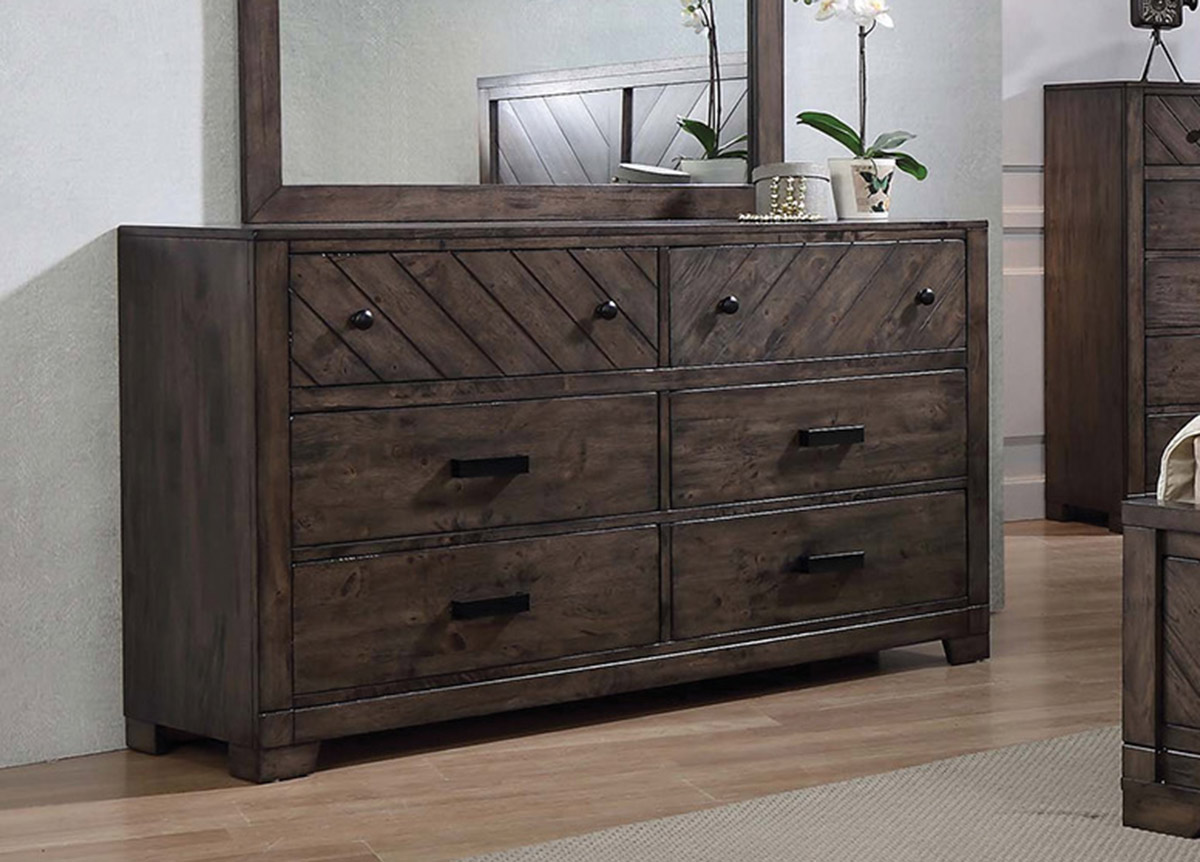 Coaster Lawndale Dresser - Dark Brown