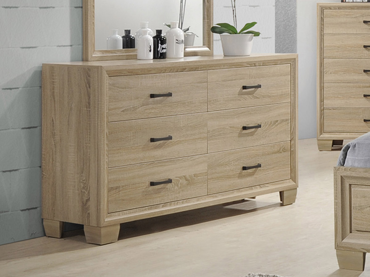 Coaster Vernon Dresser - White Washed Oak