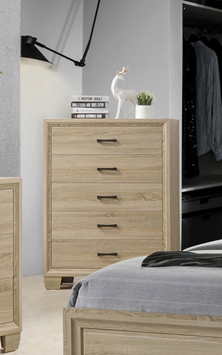 Coaster Vernon Chest - White Washed Oak
