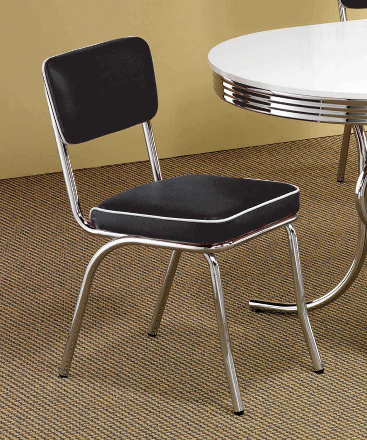 Coaster Mix & Match Chair - Black