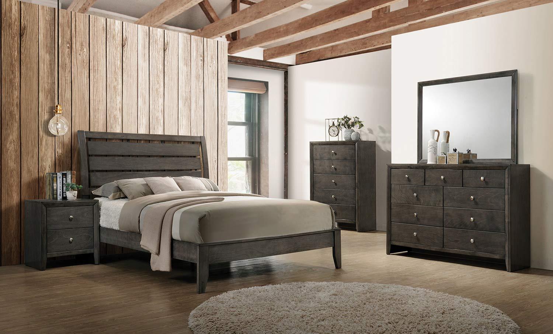 Coaster Serenity Bedroom Set - Mod Grey