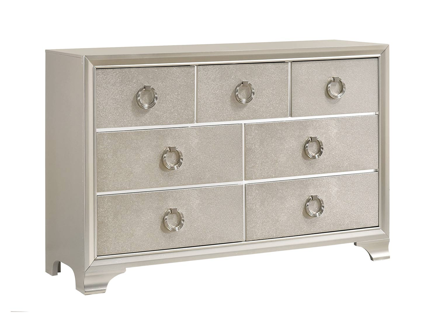 Coaster Salford Dresser - Metallic Sterling
