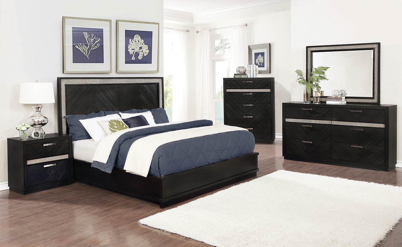 Coaster Chula Vista Bedroom Set - Rustic Glam