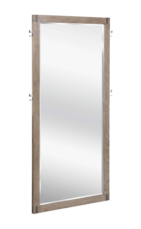 Coaster Smithson Floor Mirror - Grey Oak
