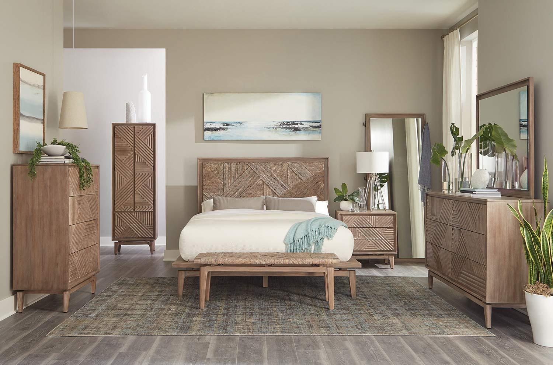 Coaster Vanowen Cedar Bedroom Set - Sandstone