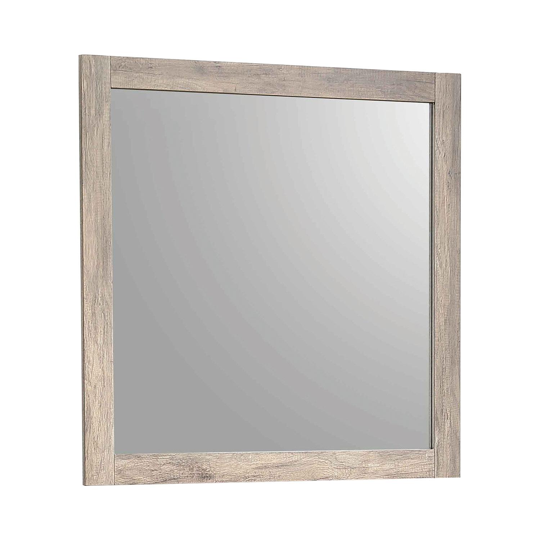 Coaster Adelaide Mirror - Rustic Oak