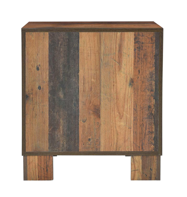 Coaster Sidney Nightstand - Rustic Pine