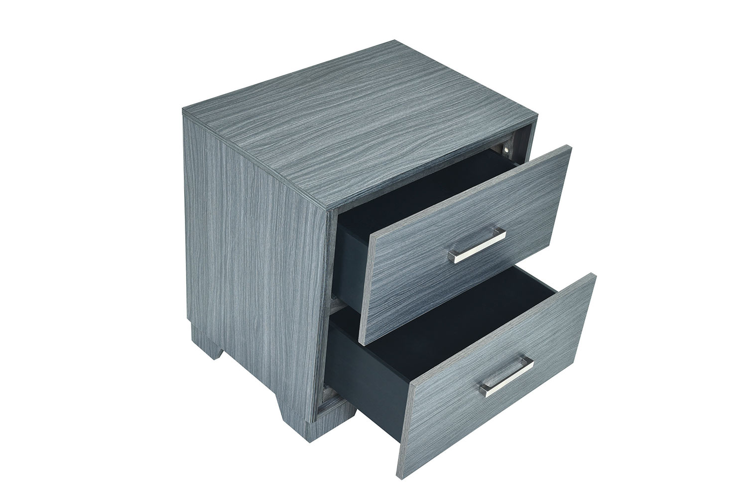 Coaster Julian Nightstand - Dark Grey Oak