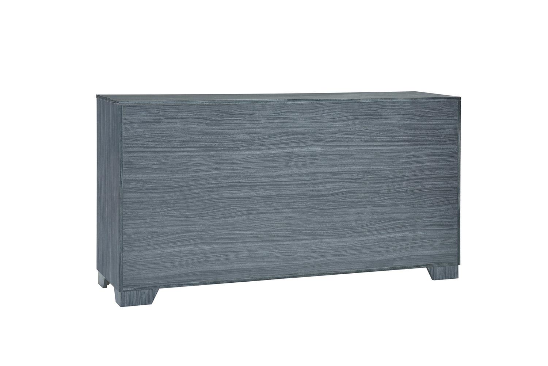 Coaster Julian Dresser - Dark Grey Oak