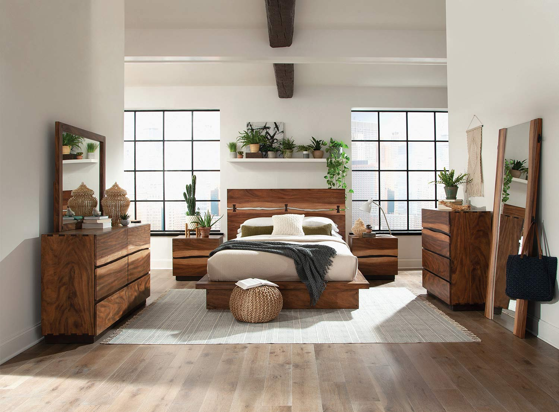 Coaster Winslow Bedroom Set - Smokey Walnut/Coffee Bean