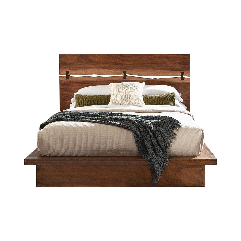 Coaster Winslow Bed - Smokey Walnut/Coffee Bean