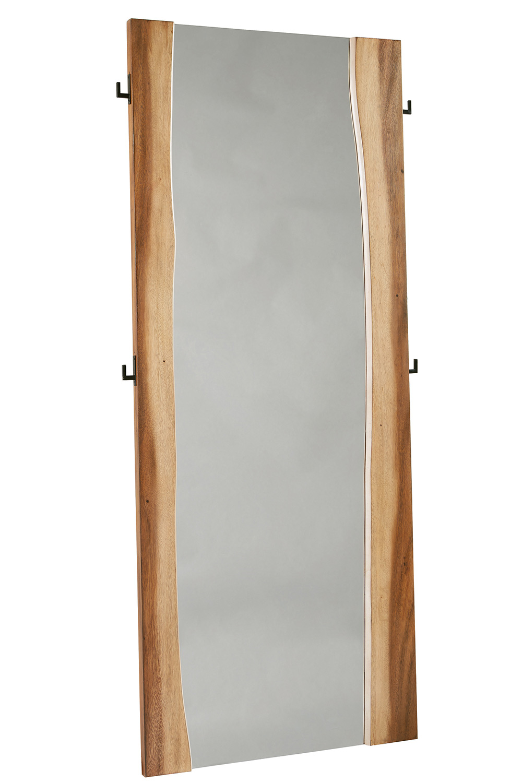 Coaster Winslow Floor Mirror - Smokey Walnut/Coffee Bean