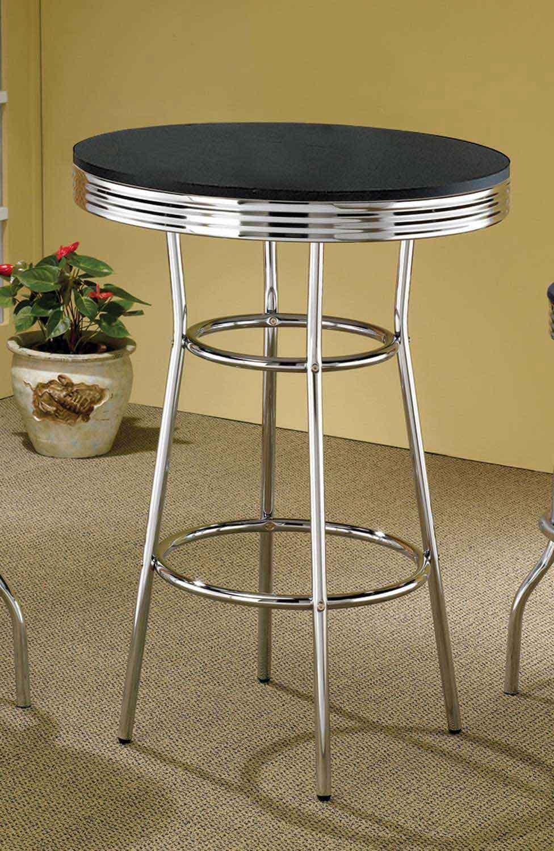 Coaster 2405 Bar Table - Black