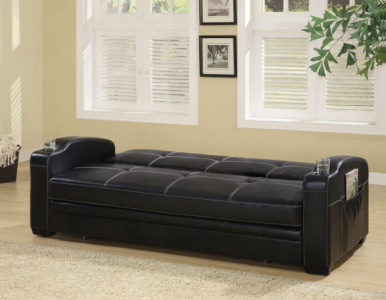 Coaster 300132 Sofa Bed - Black