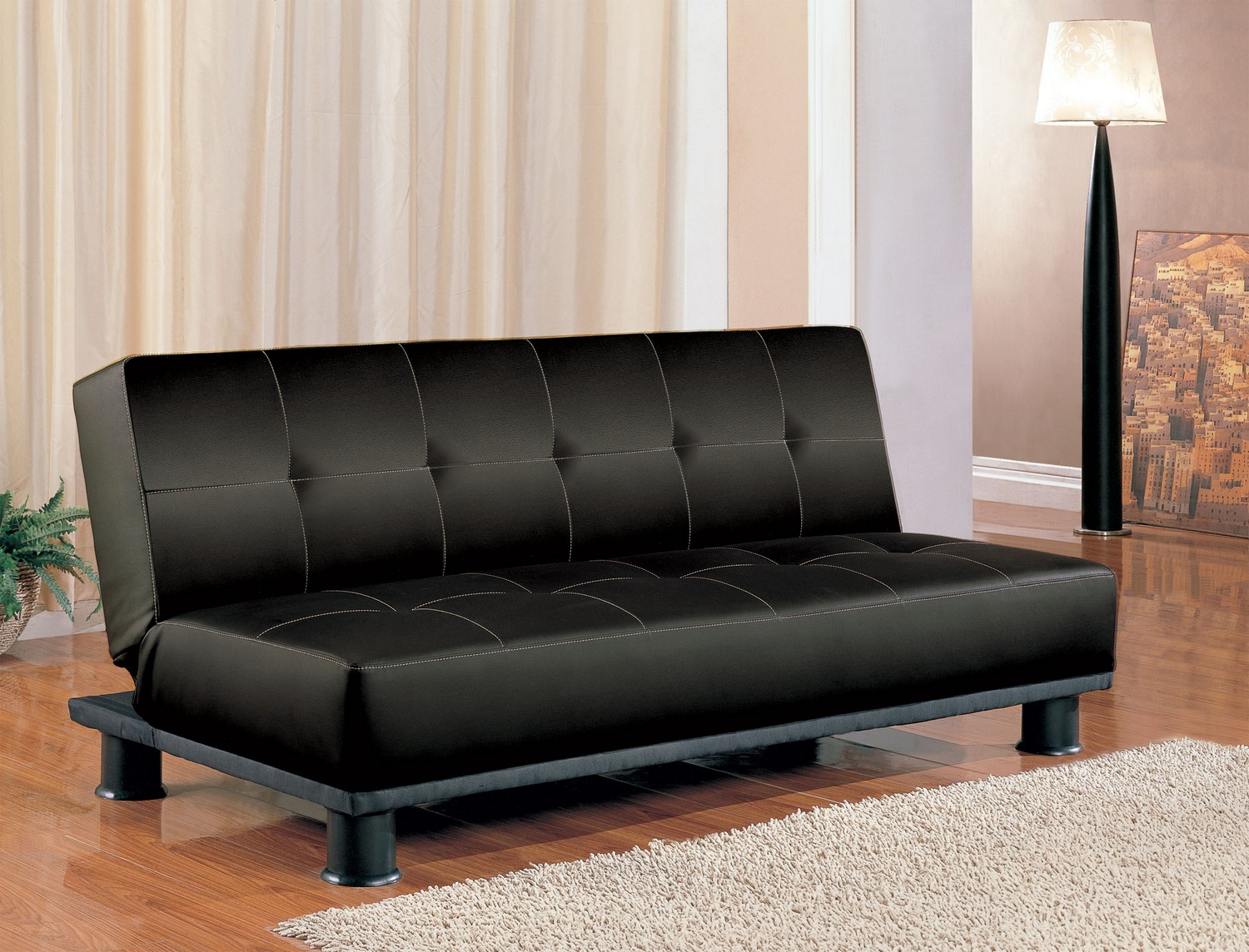 Coaster 300163 Sofa Bed - Black
