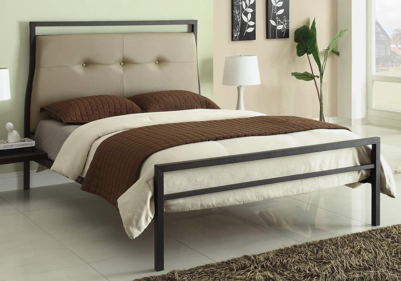 Coaster Leon Bed - Brown
