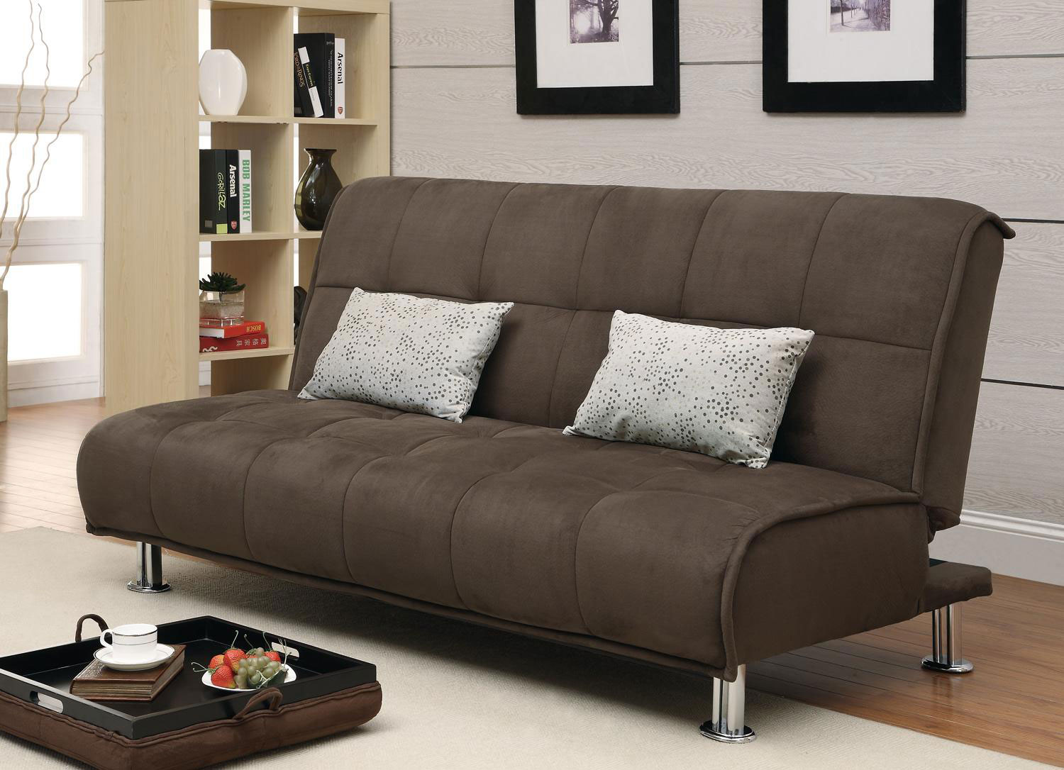 Coaster 300276 Sofa Bed Set Brown 300276 Sofabedset At