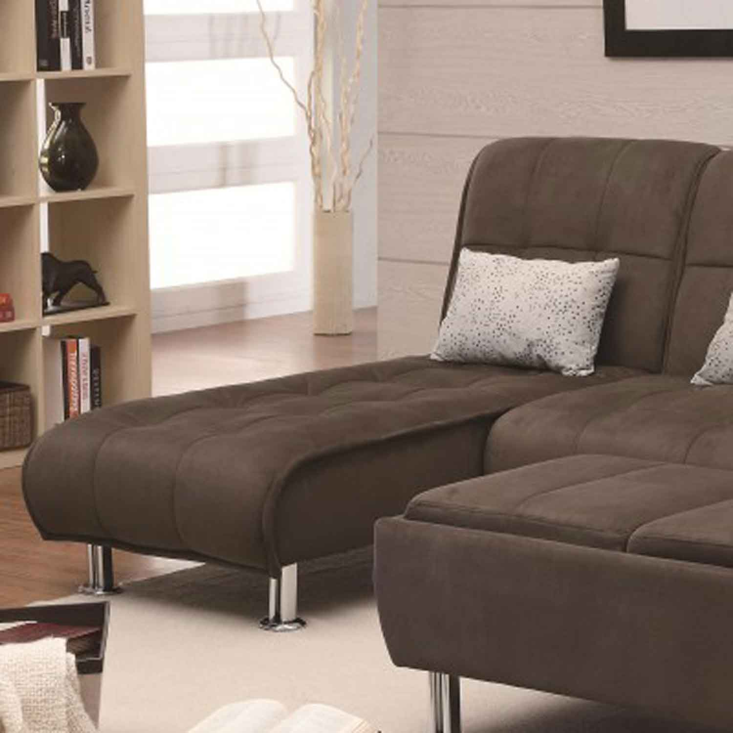 Coaster 300276 Chaise Bed - Brown