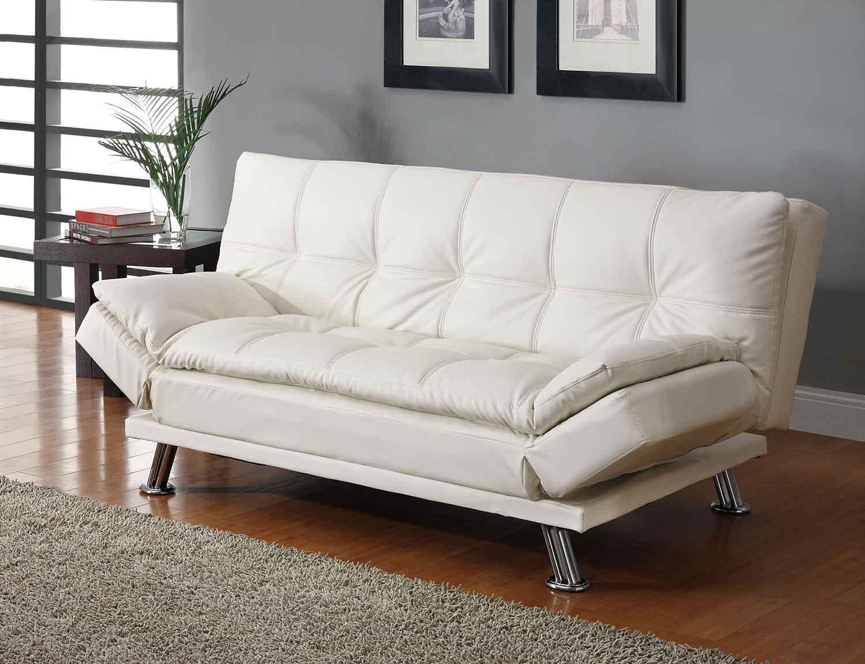 Coaster Dilleston Sofa Bed White 300291 At Homelement Com
