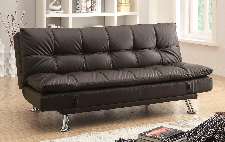 Coaster Dilleston Sofa Bed - Brown