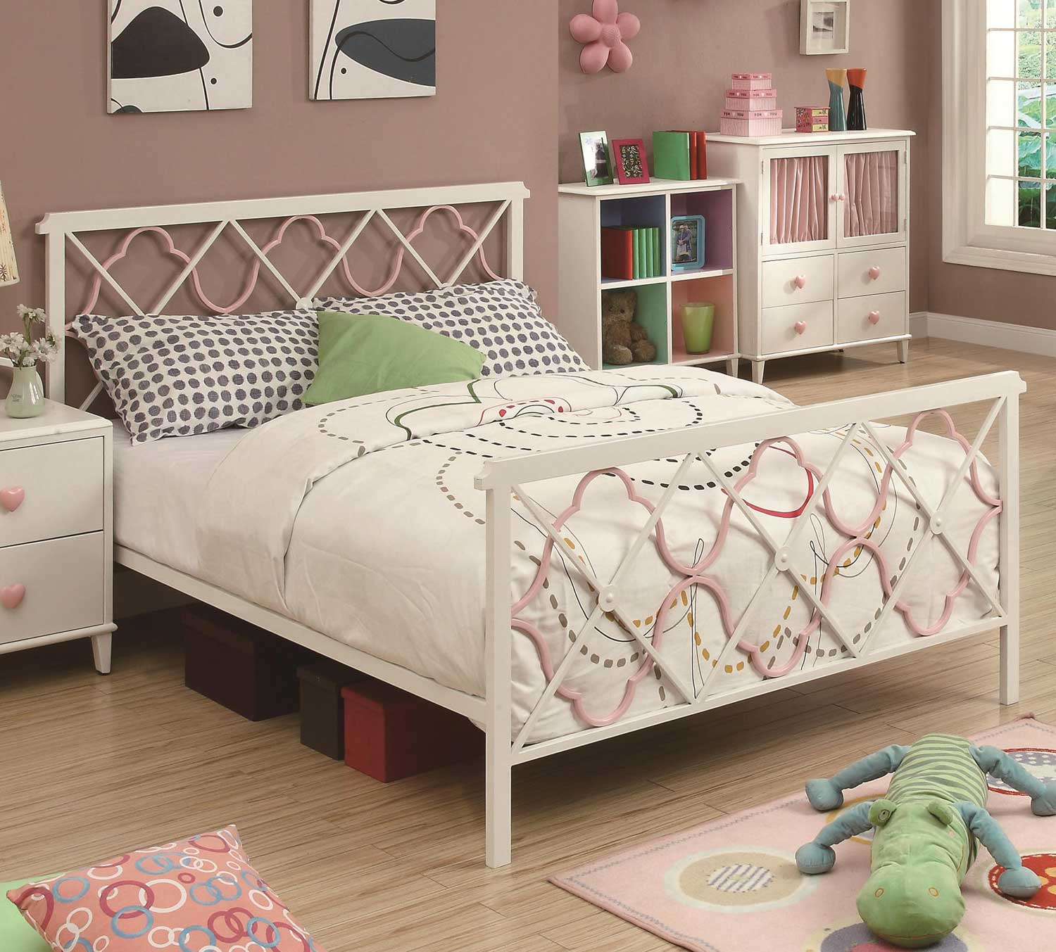 Coaster Juliette Bed - White
