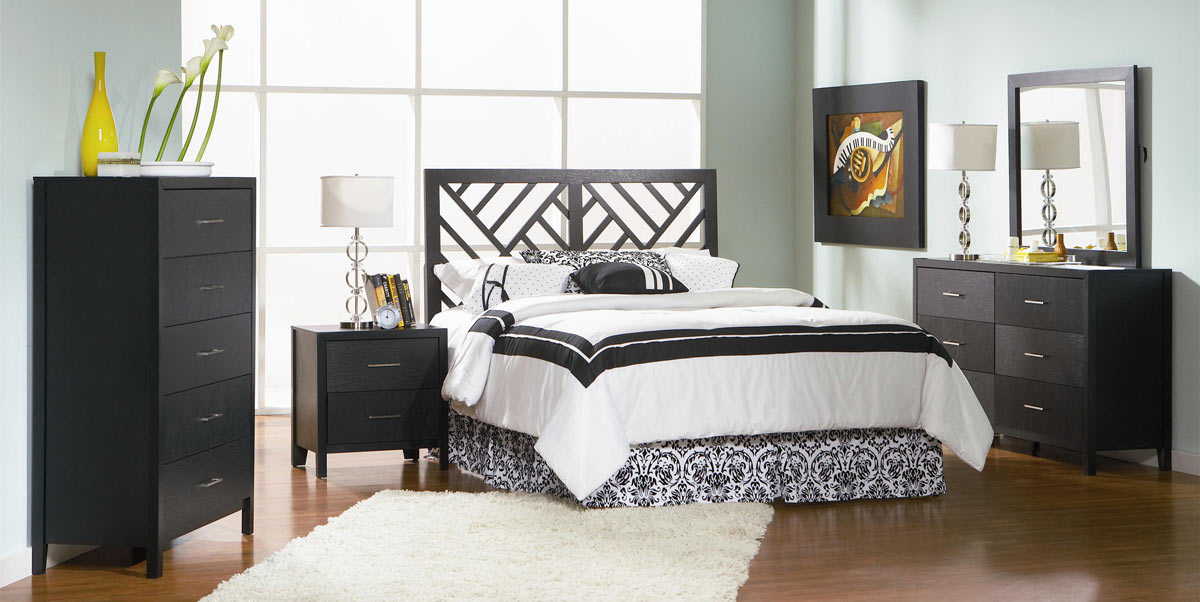 Coaster Grove Headboard Bedroom Set