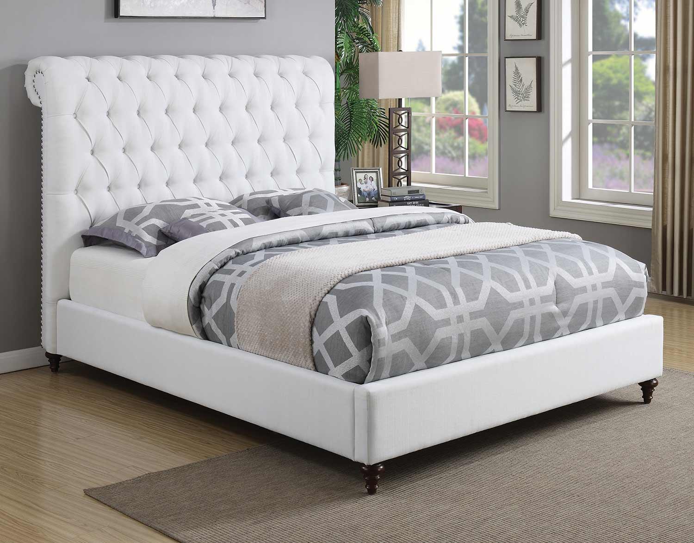Coaster Devon Bed - White