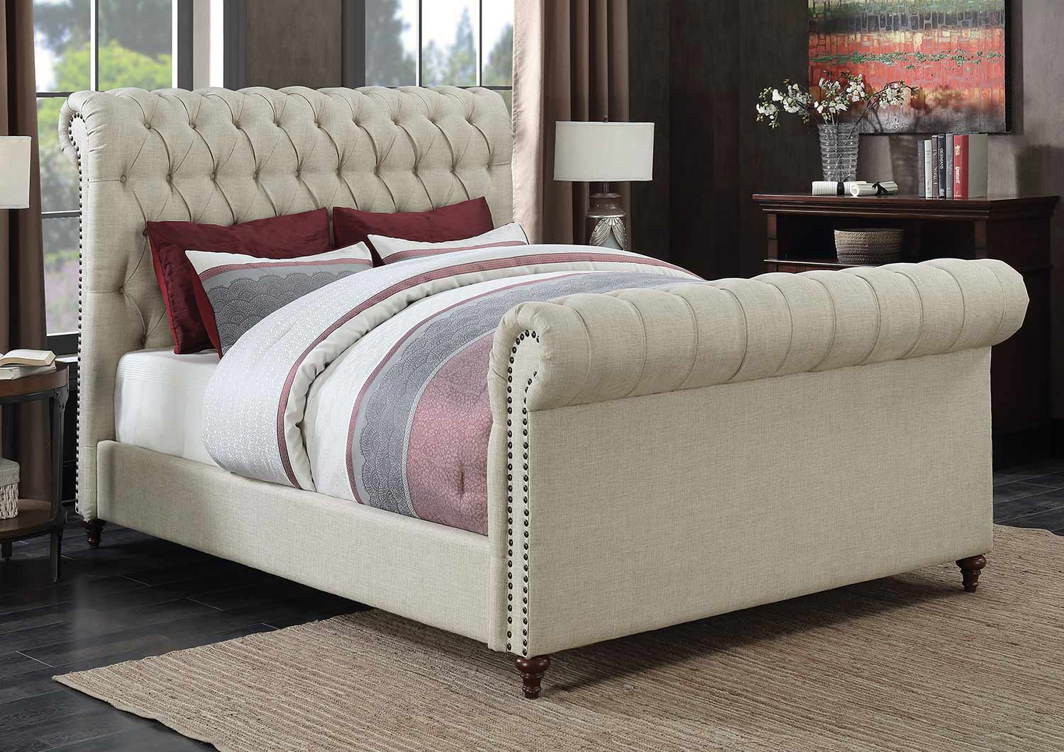 Coaster Gresham Bed - Beige