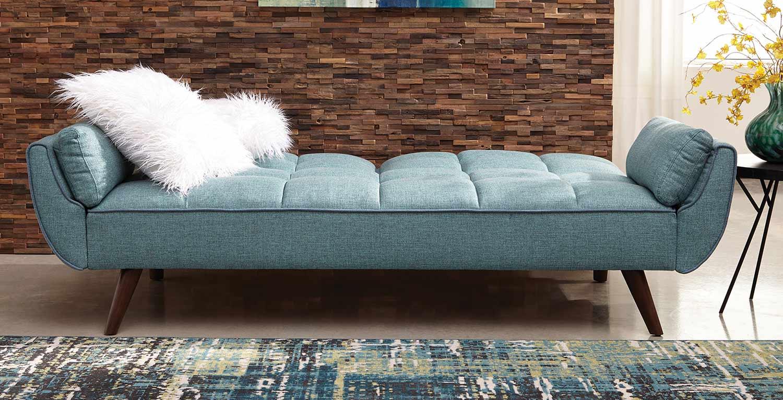 Coaster Cheyenne Sofa Bed - Turquoise Blue