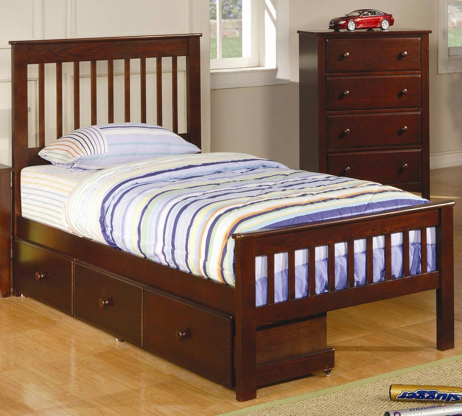 Coaster Parker Twin Bed