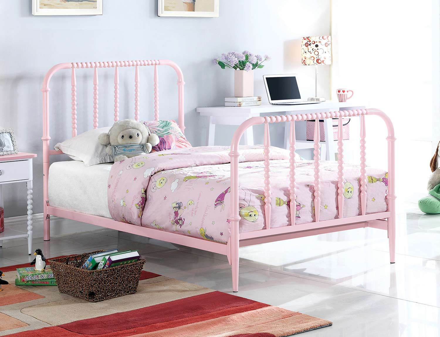 Coaster Loyola Bed - Pink