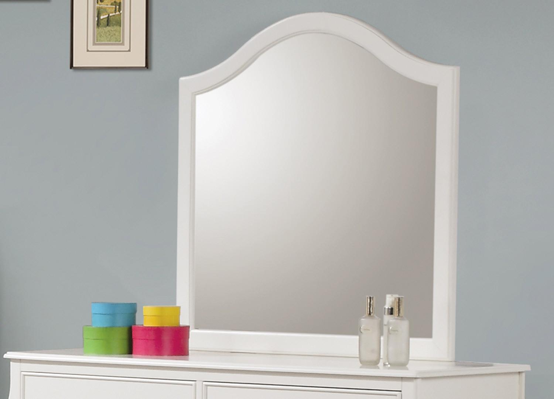 Coaster Dominique Mirror - White