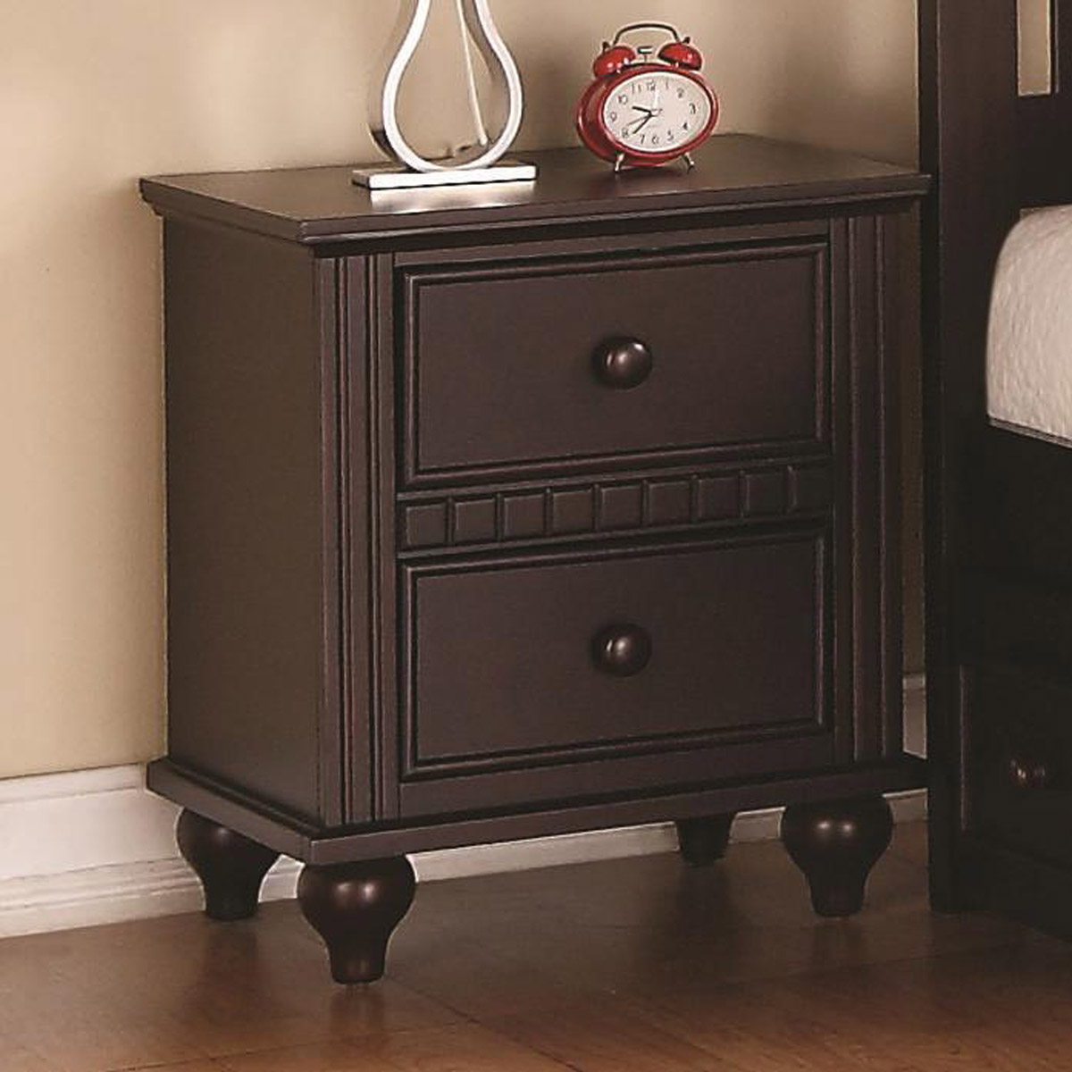 Coaster Oliver Night Stand - Cappuccino