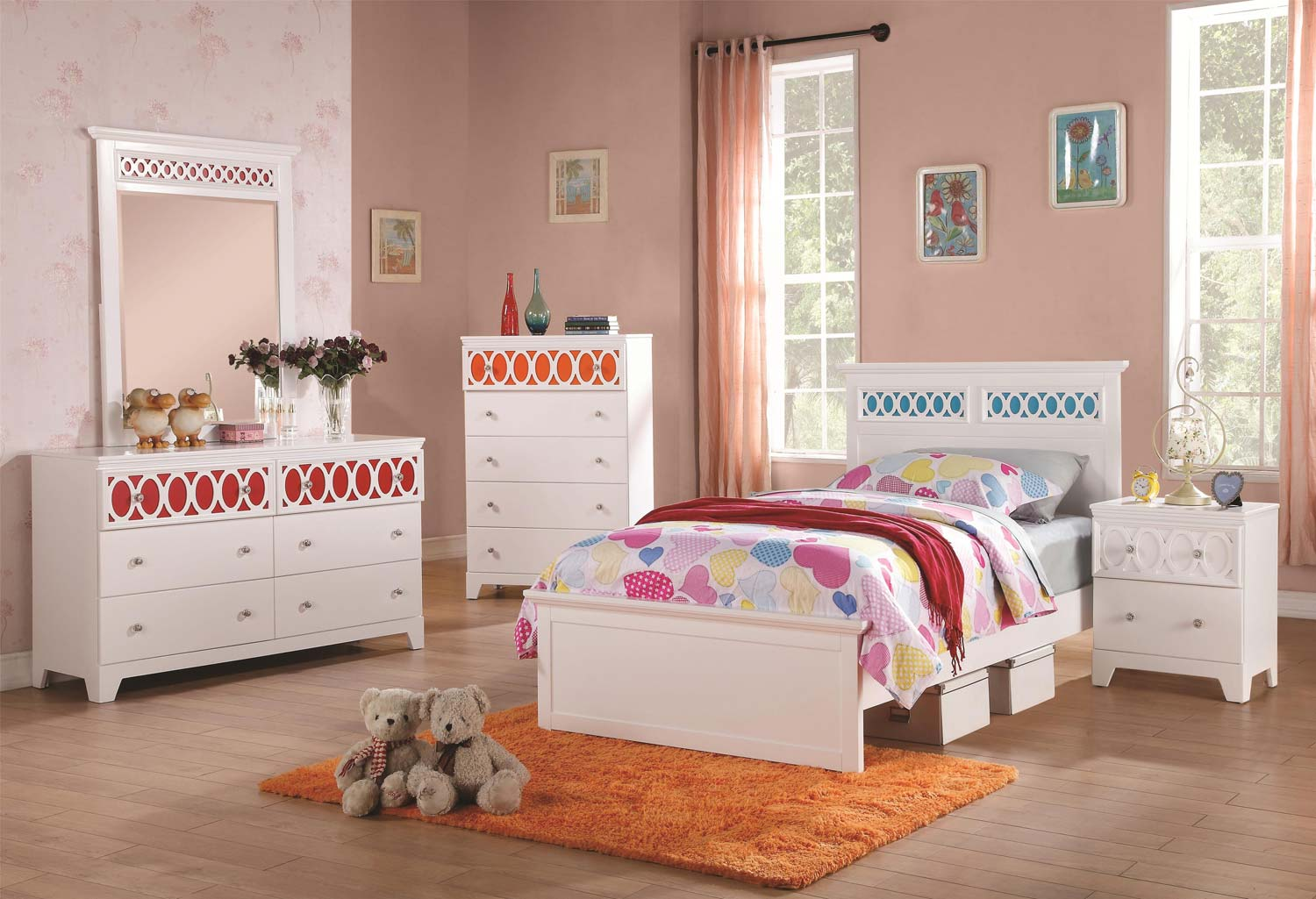 Coaster Madeline Bedroom Collection - White
