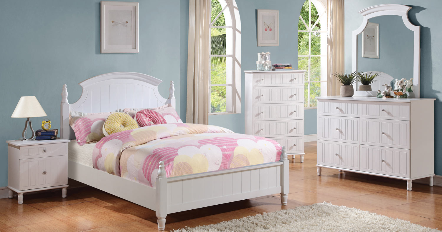 Coaster Bethany Bedroom Set - White