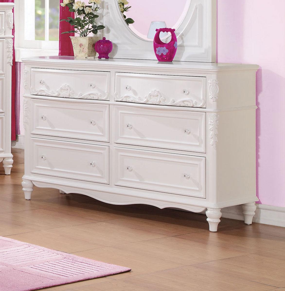 Coaster Caroline Dresser - White