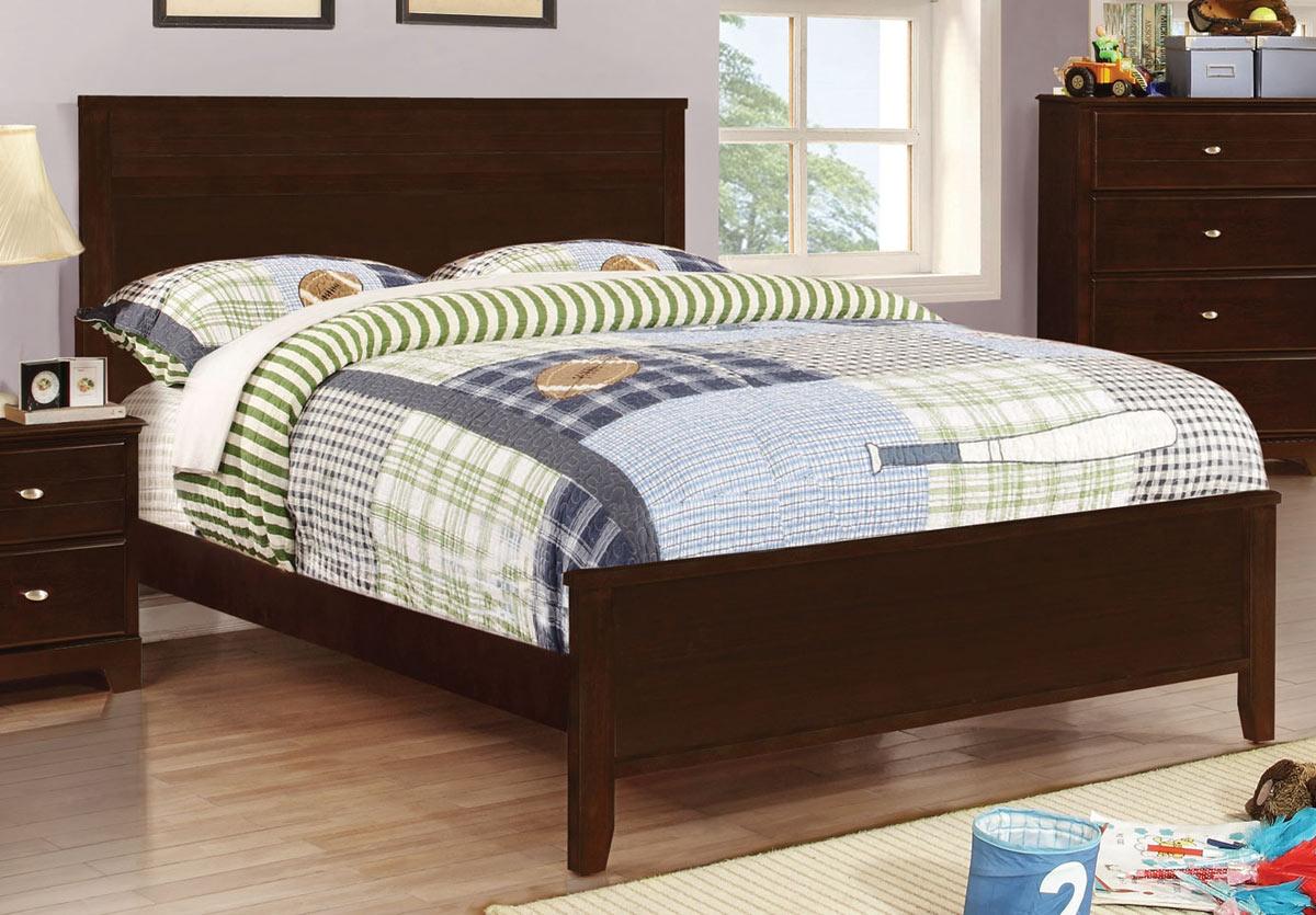 Coaster Ashton Platform Bed - Cappuccino