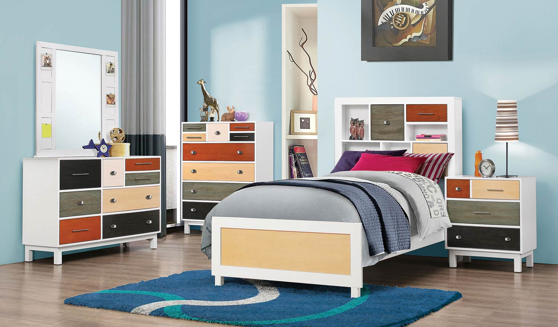 Coaster Lemoore Bedroom Set - Multi-color