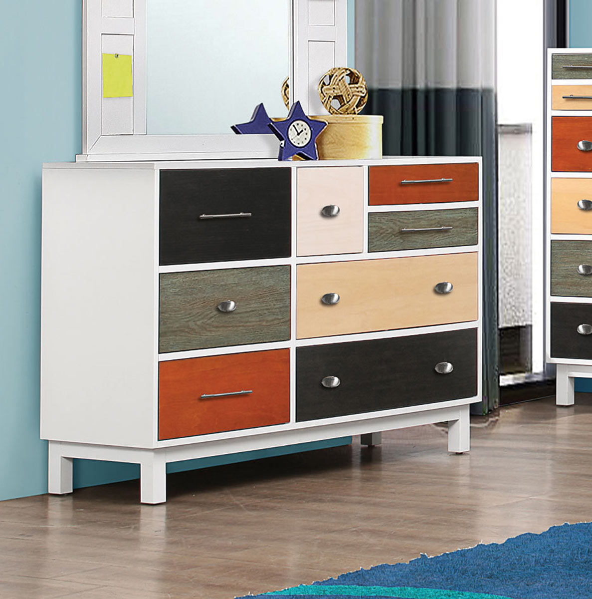 Coaster Lemoore Dresser - Multi-color