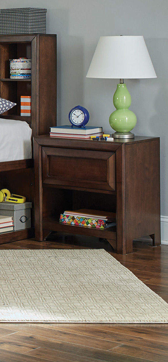 Coaster Greenough Nightstand - Maple Oak