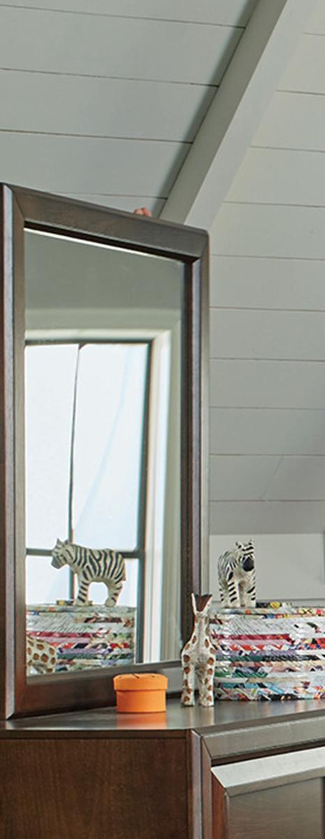 Coaster Greenough Mirror - Maple Oak