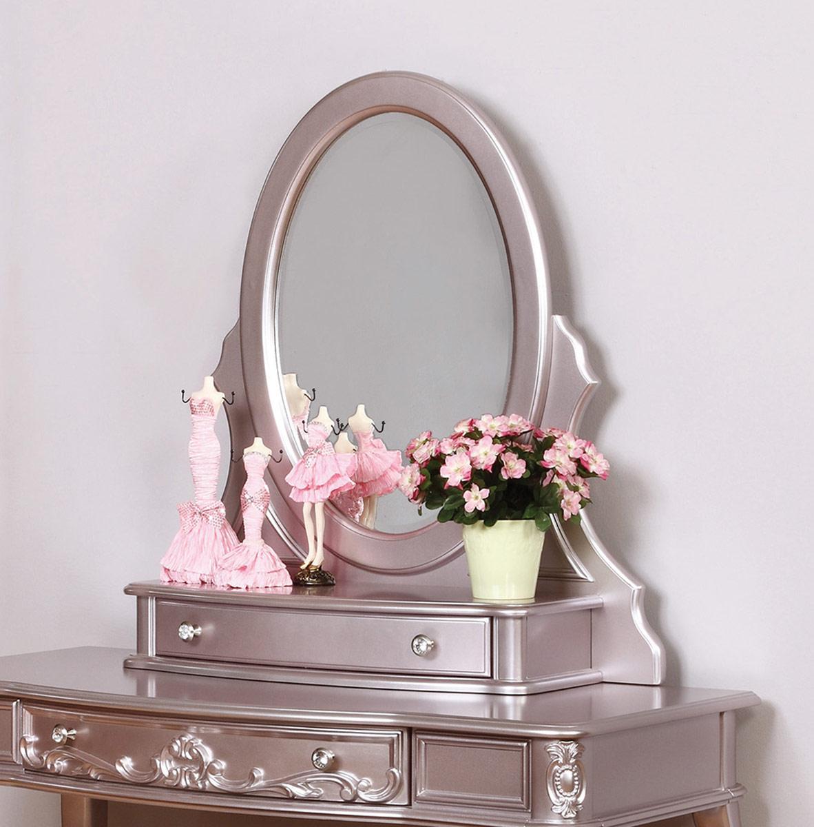 Coaster Caroline Vanity Mirror - Metallic Lilac