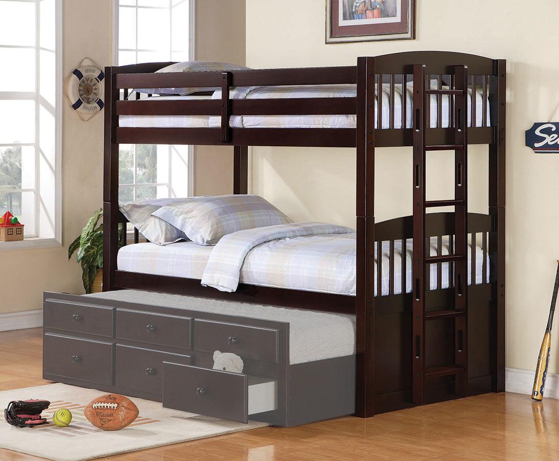 Coaster Logan Twin/Twin Bunk Bed