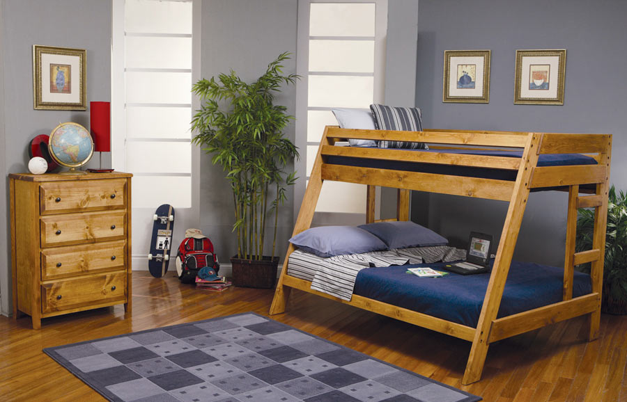 Coaster Wrangle Hill Twin Full Bunk Bed 460093